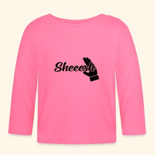 SHEEESH Yeah Cool Swag - Baby Langarmshirt