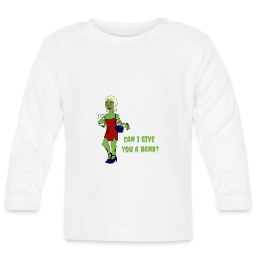 give a hand - Baby Long Sleeve T-Shirt