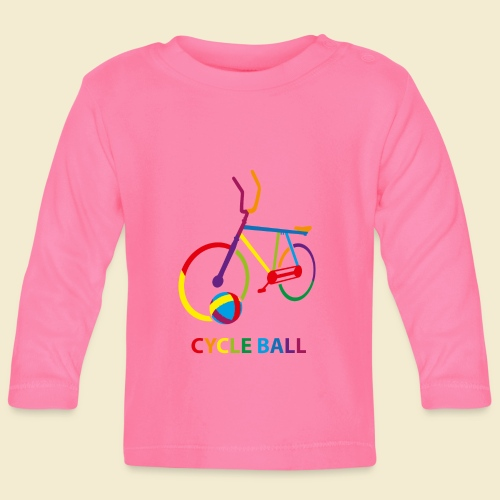 Radball | Cycle Ball Rainbow - Baby Langarmshirt