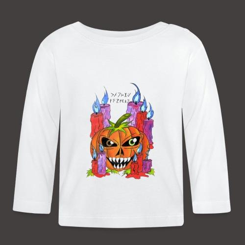 CANDLE PUMPKIN - T-shirt manches longues Bébé
