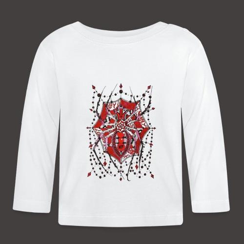Spider Dentelle Red - T-shirt manches longues Bébé