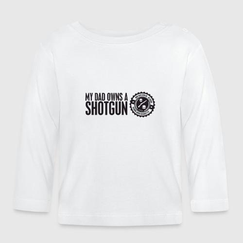 SHOTGUN png - Langærmet babyshirt