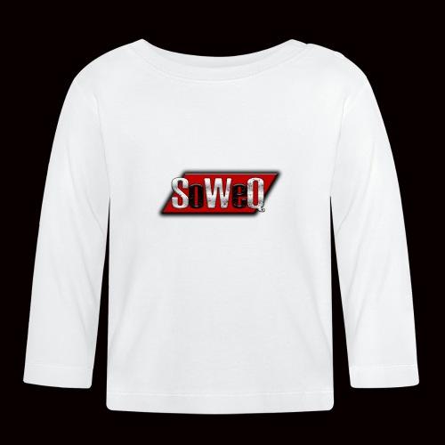 SoWeQ Navneskilt - Langærmet babyshirt