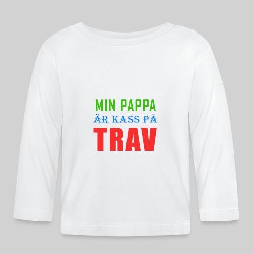 pappakasspatrav - Långärmad T-shirt baby