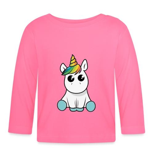 licorne - T-shirt manches longues Bébé