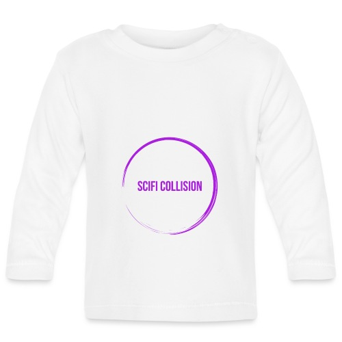 Purple Logo - Baby Long Sleeve T-Shirt