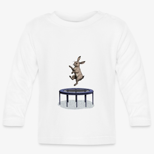 Rabbit Trampoline - Baby Long Sleeve T-Shirt