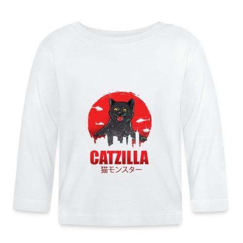 Catzilla Katzen Horror B-Movie Parodie - Baby Langarmshirt