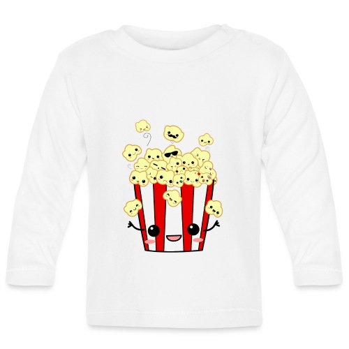 PopCorn - Camiseta manga larga bebé