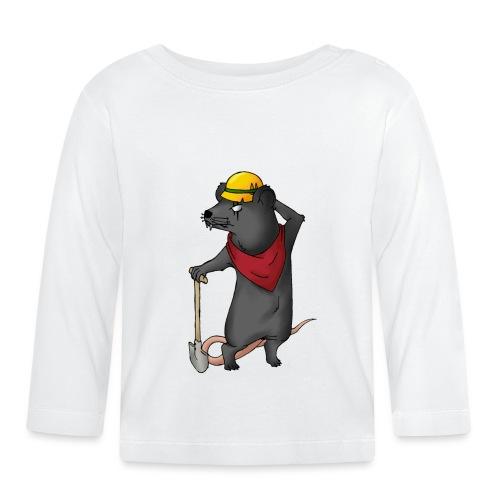 Arbeiter Ratte - Baby Langarmshirt