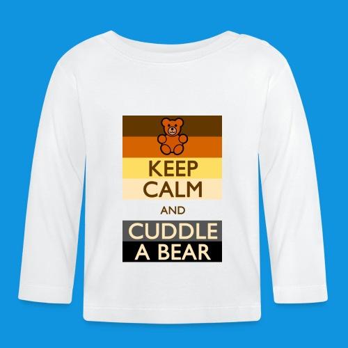 Calm Bear pocket tank - Baby Long Sleeve T-Shirt