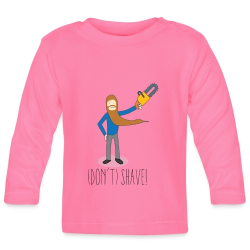 (Don't) SHAVE! - Maglietta a manica lunga per bambini