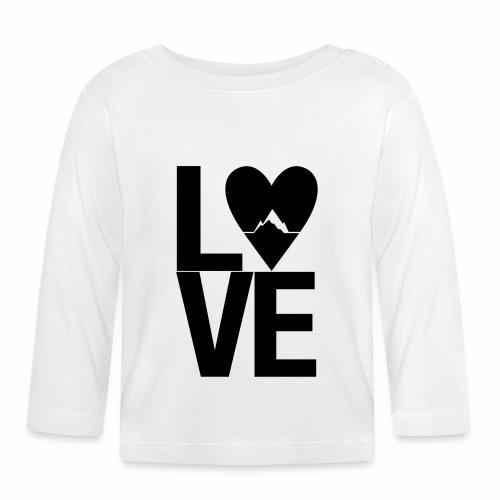 Mountain Love - Baby Langarmshirt