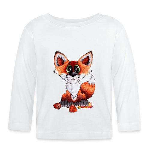 llwynogyn - a little red fox - Baby Langarmshirt