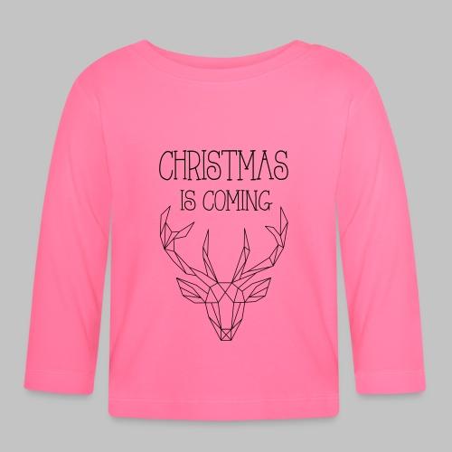 Deer Christmas - Baby Long Sleeve T-Shirt