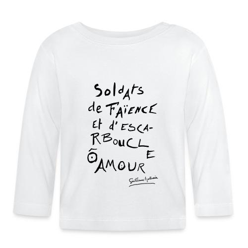 Calligramme - Soldat de faillance - T-shirt manches longues Bébé
