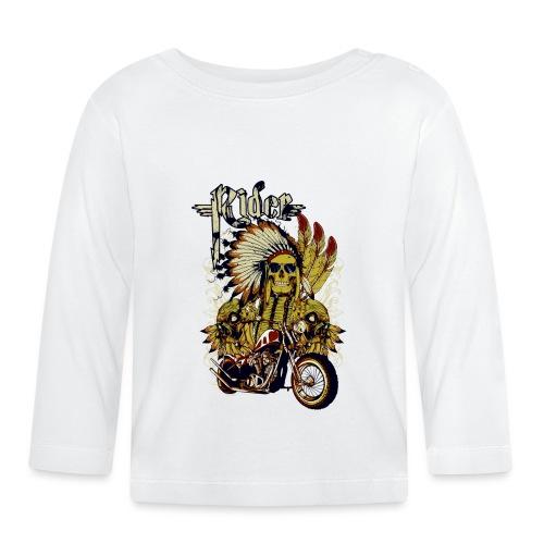 Skull Rider - Camiseta manga larga bebé