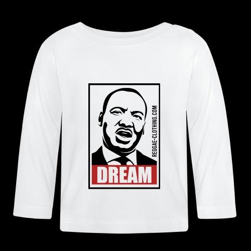 DREAM - Martin Luther King - Baby Langarmshirt