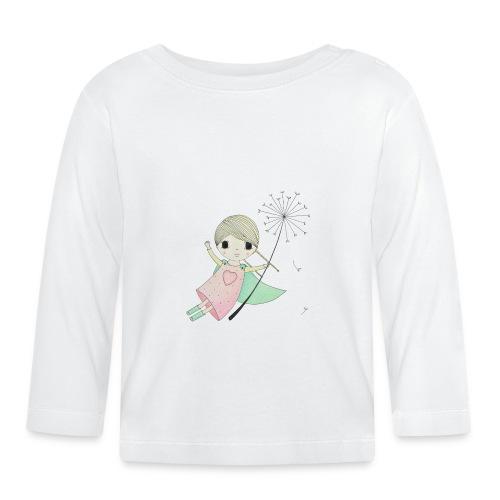 meisje aan uitgebloeide paardenbloem - T-shirt