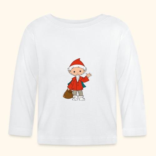 Sandmännchen winkt - Baby Langarmshirt