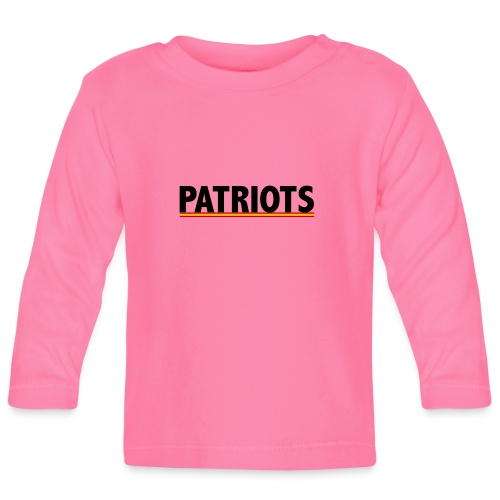 patriots españa - Camiseta manga larga bebé