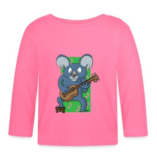 La koala ukuléliste - T-shirt manches longues Bébé
