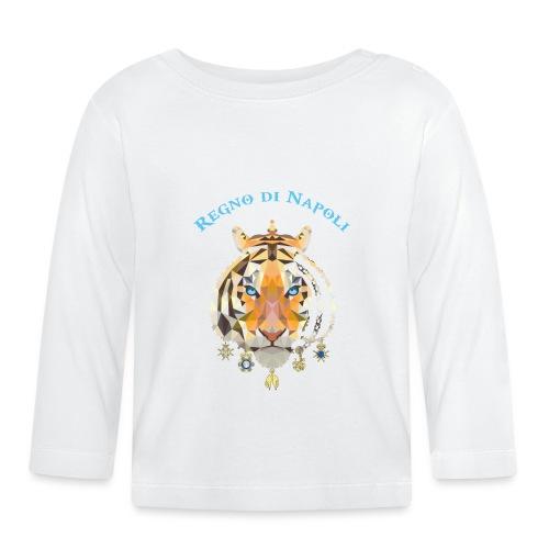 regno di napoli tigre - Maglietta a manica lunga per bambini
