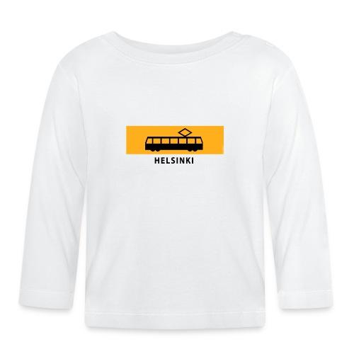 RATIKKA PYSÄKKI HELSINKI T-paidat ja lahjatuotteet - Vauvan pitkähihainen paita