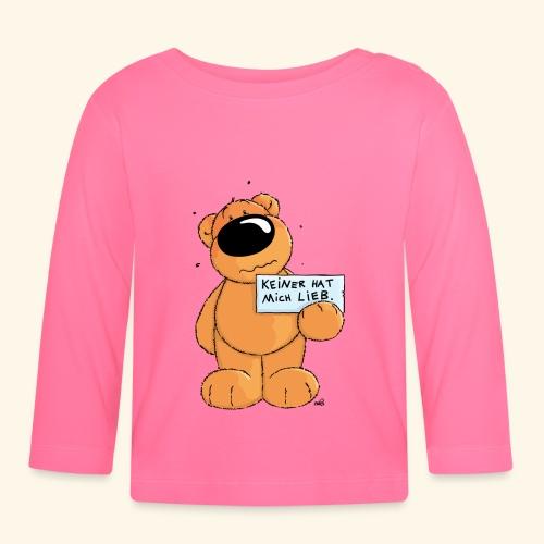 chris bears Keiner hat mich lieb - Baby Langarmshirt