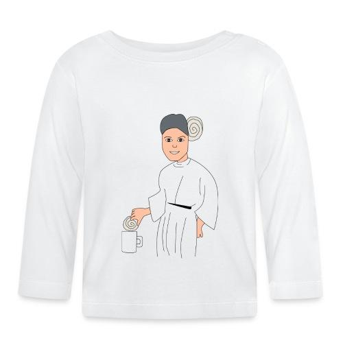 princesa leia - Camiseta manga larga bebé