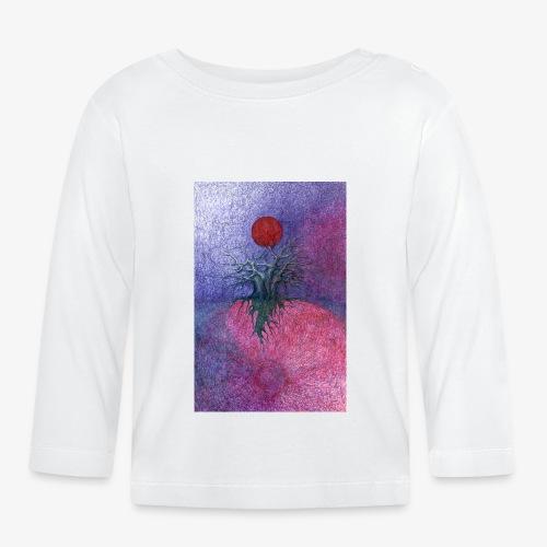 Space Tree - Koszulka niemowlęca z długim rękawem