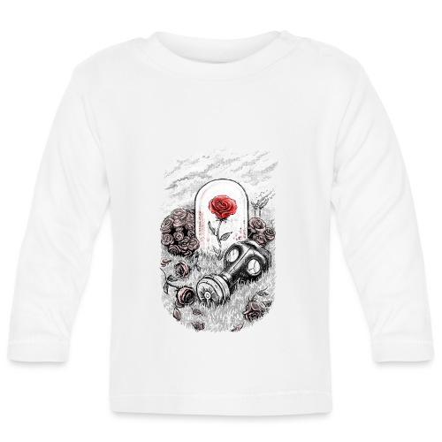 The Last Flower On Earth - Baby Long Sleeve T-Shirt