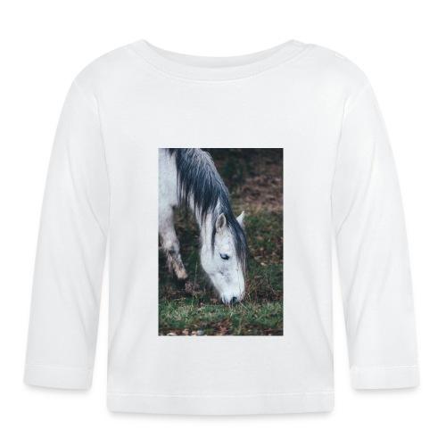 Pferde Hülle - Baby Langarmshirt