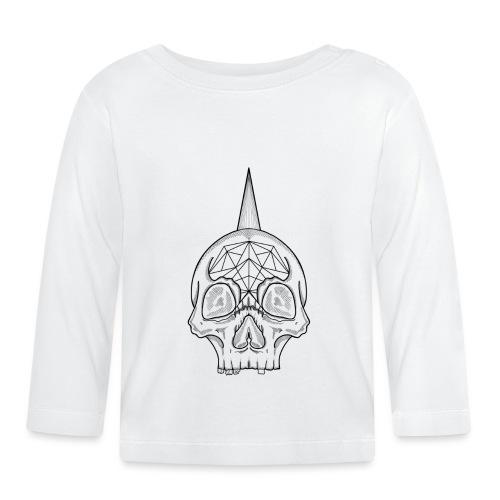 Skull head - T-shirt manches longues Bébé