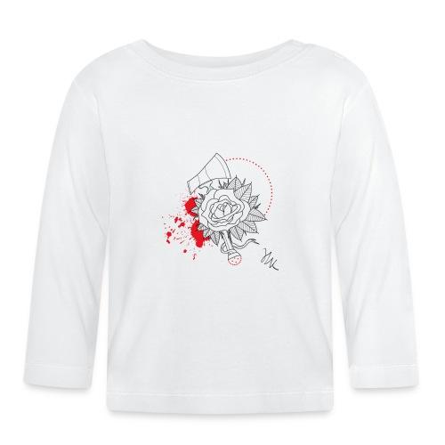 Rose - T-shirt manches longues Bébé