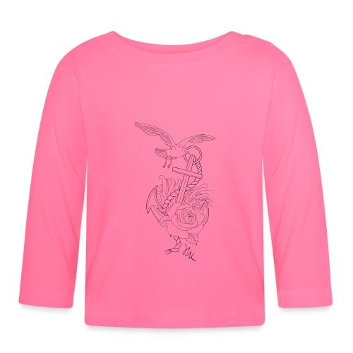 Encre oiseau - T-shirt manches longues Bébé
