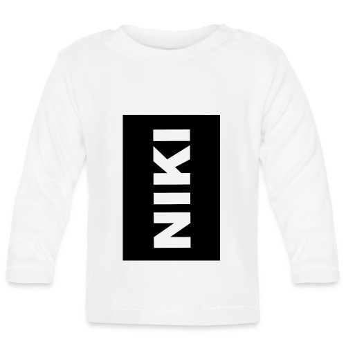 NIKI am Handy - Baby Langarmshirt