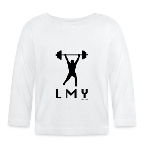 170106 LMY t shirt vorne png - Baby Langarmshirt
