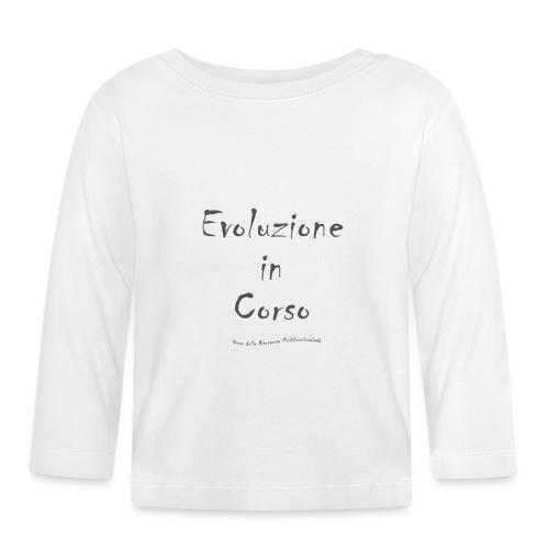 Evoluzione in corso - Maglietta a manica lunga per bambini