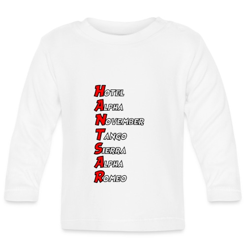 HANTSAR - Phonetic - Baby Long Sleeve T-Shirt