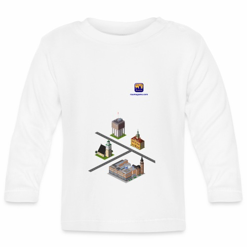 Raumagame mix for white/pale bg - Vauvan pitkähihainen paita