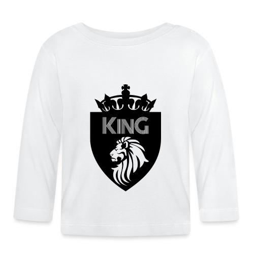 king - T-shirt manches longues Bébé