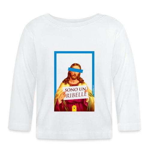Sono un Ribelle - Maglietta a manica lunga per bambini