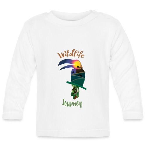 Wildlife Journey - Baby Langarmshirt