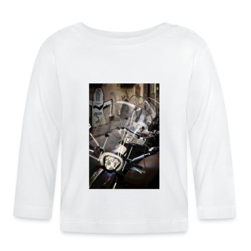 motorbike roller - Baby Langarmshirt