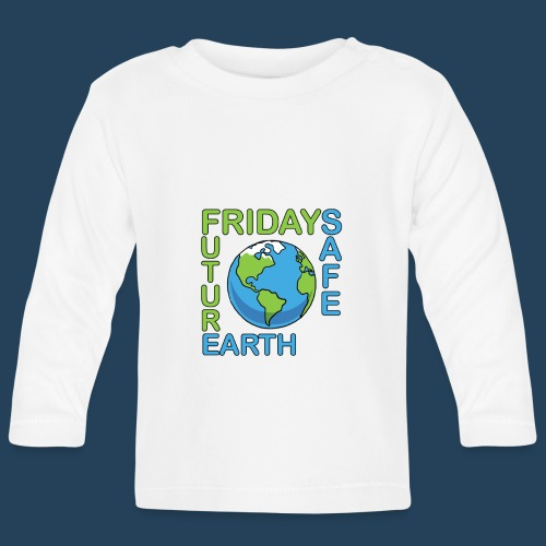 Safe Our Earth - Baby Langarmshirt