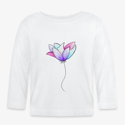 Fleur - T-shirt manches longues Bébé