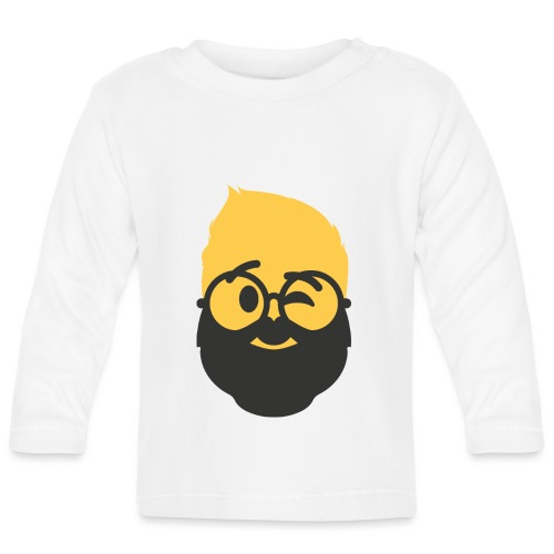 Dougsteins Wink Inverse by Dougsteins - Baby Long Sleeve T-Shirt