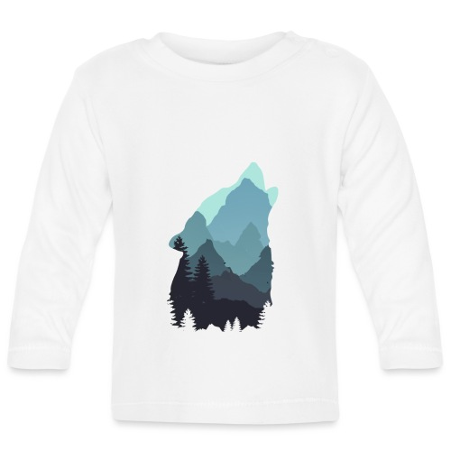 Wolf - Baby Long Sleeve T-Shirt