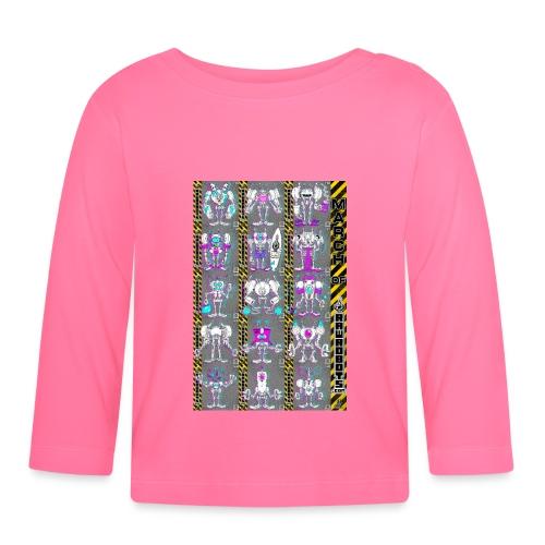 #MarchOfRobots ! NR 16-30 - Langærmet babyshirt